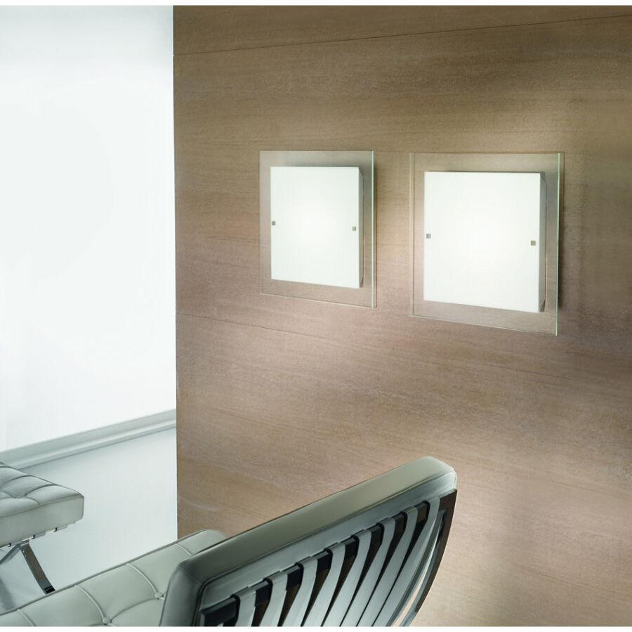 LineaLight PIANA 71624 Fali lámpa fehér 1xR7s max. 80 W 45x26x6,5 cm