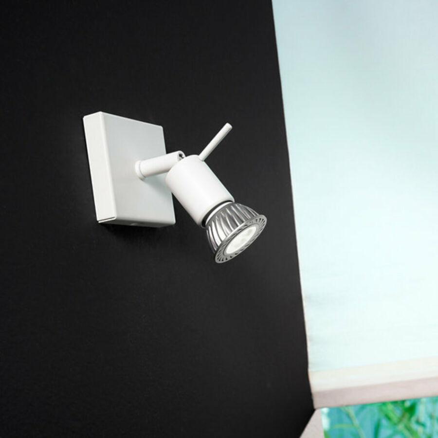 LineaLight SPOTTY 7340 Mennyezeti spot lámpa fehér 1xGU10 max. 40W 10x8x8 cm