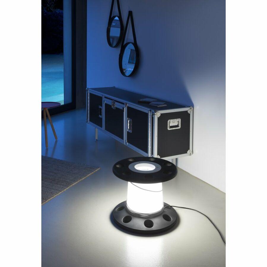 LineaLight 7672 Asztali lámpa REELY IN antracit műanyag