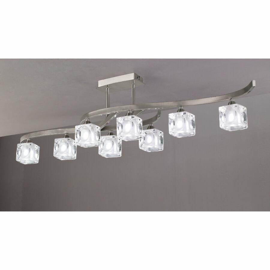 Mantra CUADRAX 0004024 Mennyezeti lámpa szatinált nikkel fém