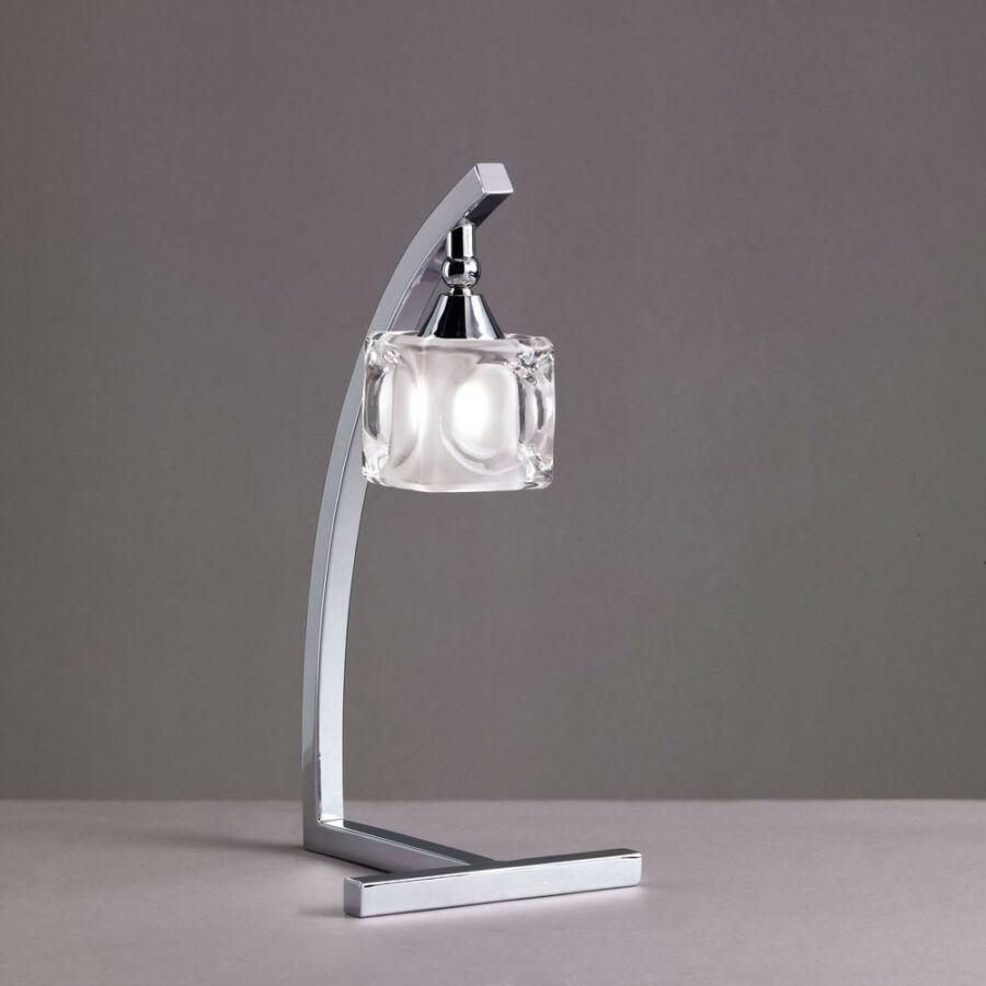 Mantra 0954 Asztali lámpa CUADRAX króm fém