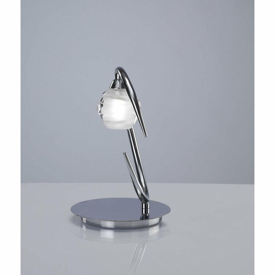 Mantra 1807 Asztali lámpa LOOP króm fém