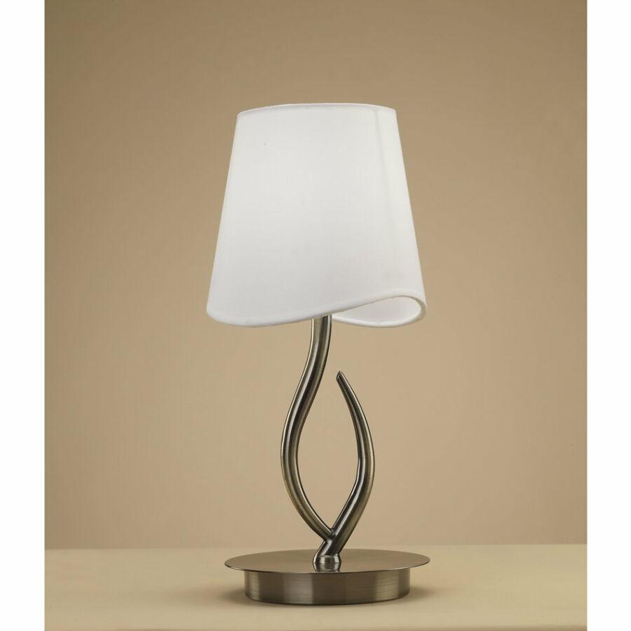 Mantra 1925 Asztali lámpa NINETTE sárgaréz fém