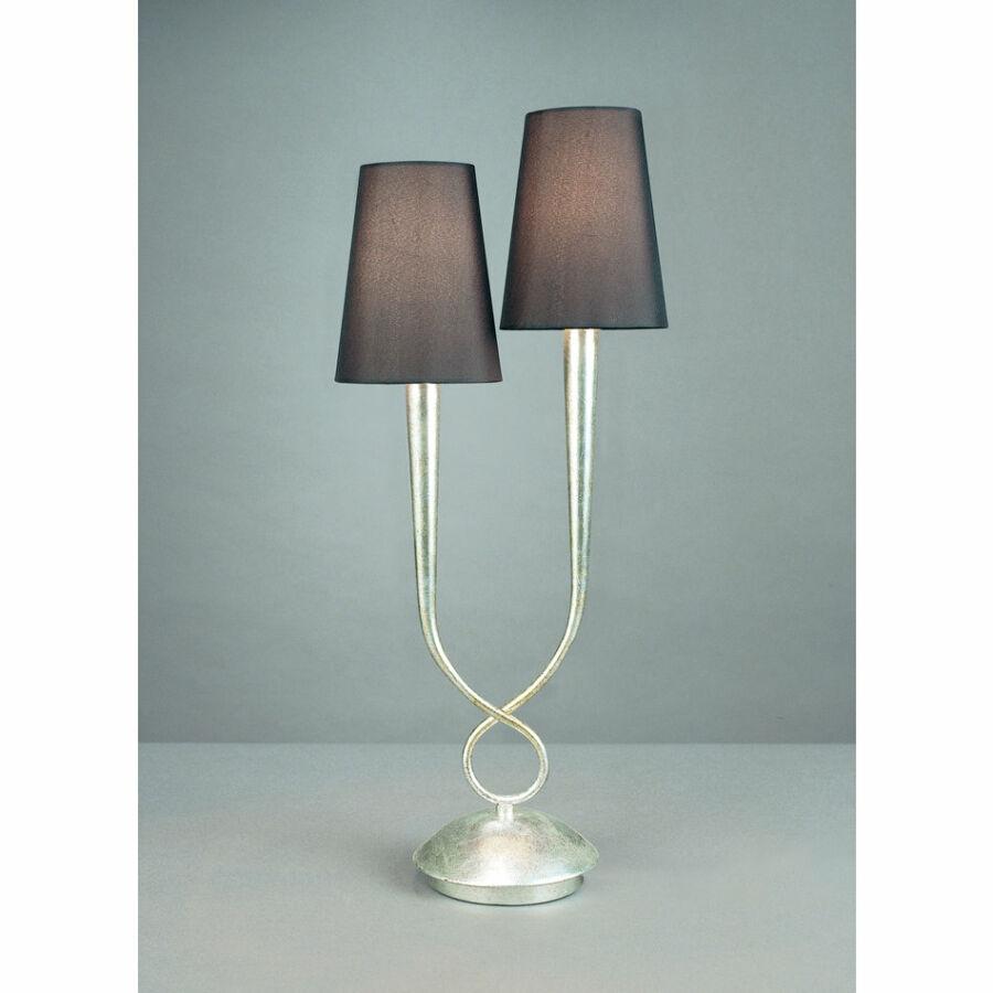 Mantra 3536 Asztali lámpa PAOLA ezüst fém