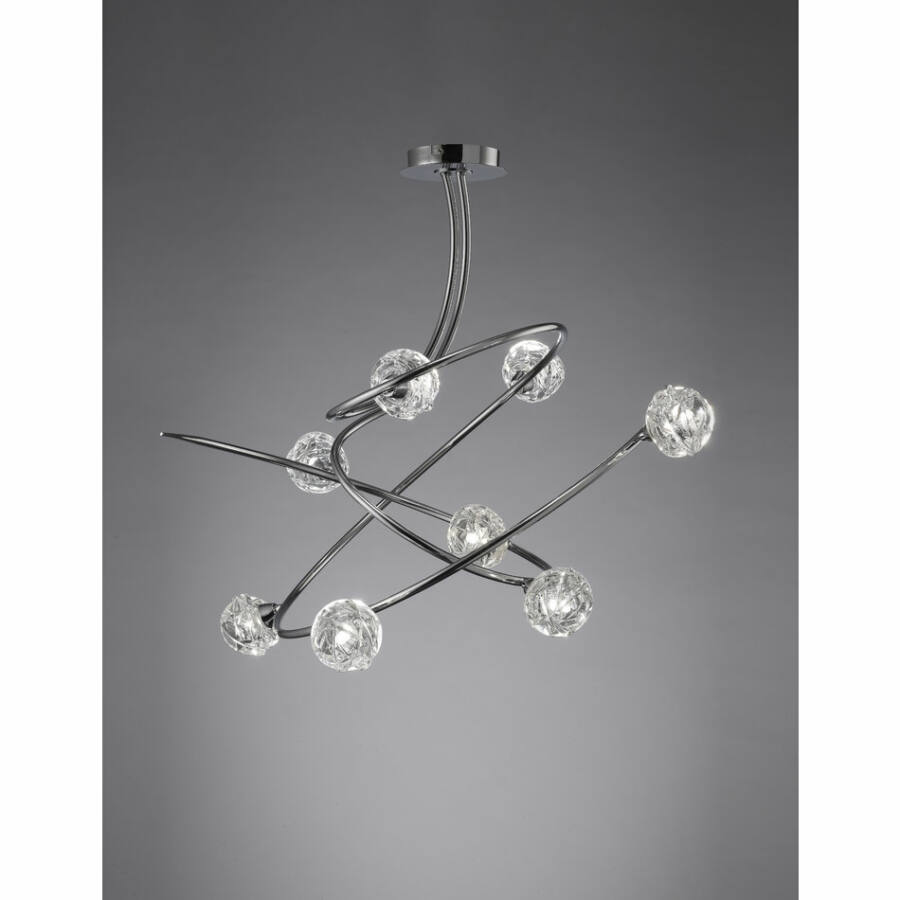 Mantra 3940 Mennyezeti lámpa MAREMAGNUM króm fém