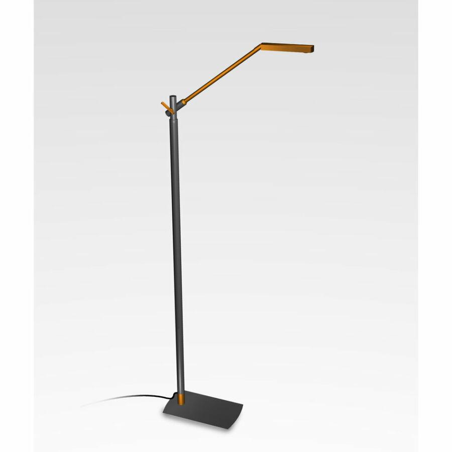 Mantra PHUKET 4947 Érintőkapcsolós állólámpa antracit 1xLED max. 7W 470x145x1300 mm