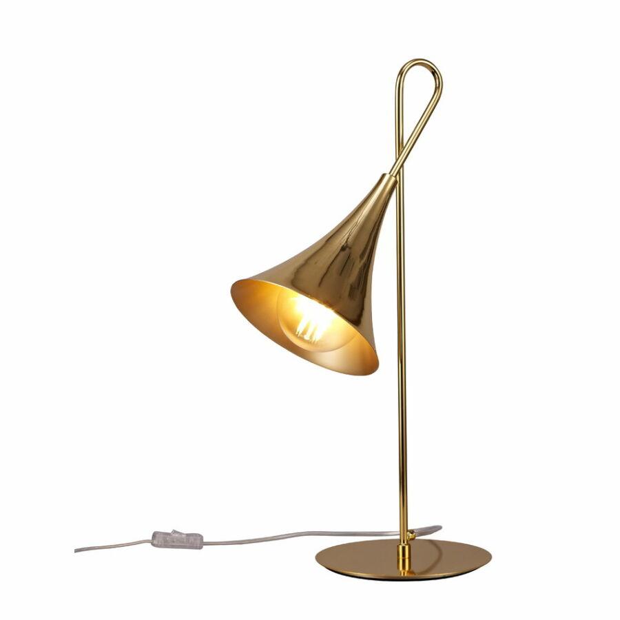 Mantra 5909 Íróasztal lámpa Jazz arany arany fém fém