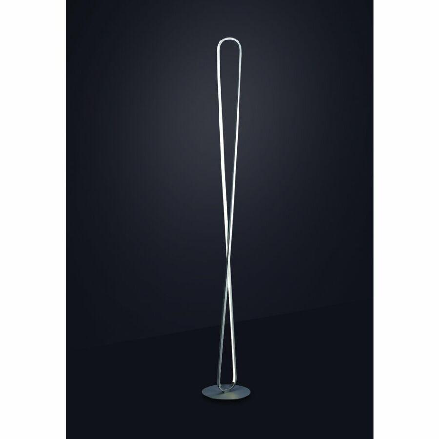 Mantra Bucle 5987 Állólámpa ezüst LED - 1 x 50W 180 x 25 x 25 cm