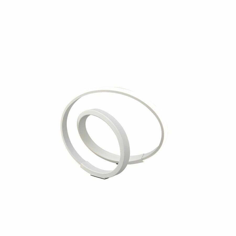 Mantra 5994 Ledes asztali lámpa Infinity Blanco fehér akril