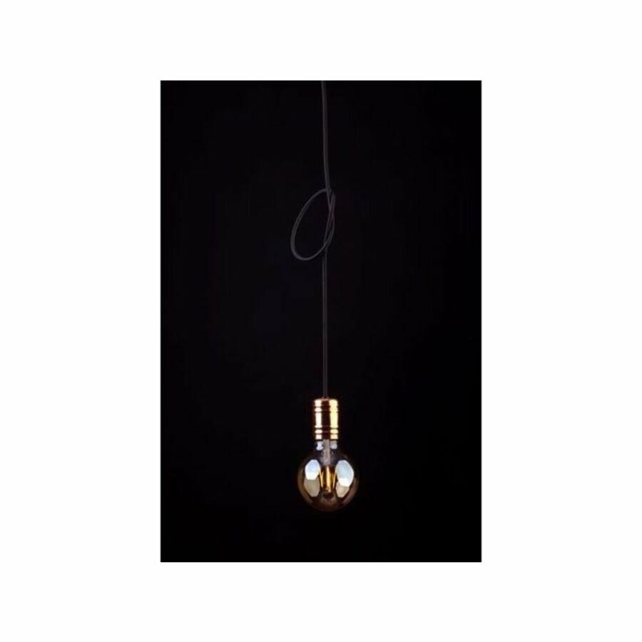 Nowodvorski Cable TL-9747 Modern függeszték fekete arany 1 x E27 max. 60W 12 x 12 x 160 cm