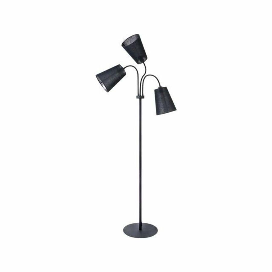 Nowodvorski Flex TL-9754 Állólámpa olvasókarral fekete fekete 3 x E27 max. 60W 35 x 35 x 136-196 cm