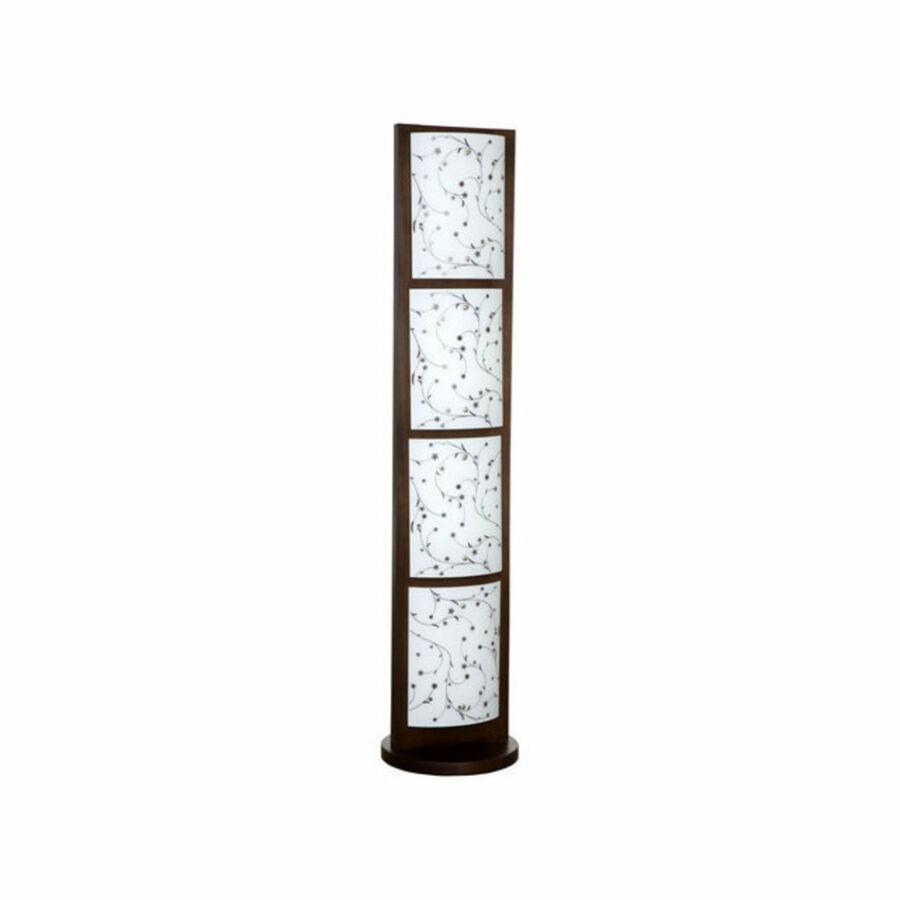 Nowodvorski TL-3345 Állólámpa Quadro barna fém