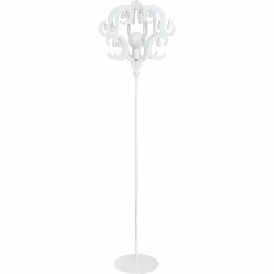 Nowodvorski TL-5214 Állólámpa Katerina fehér fehér acél műanyag