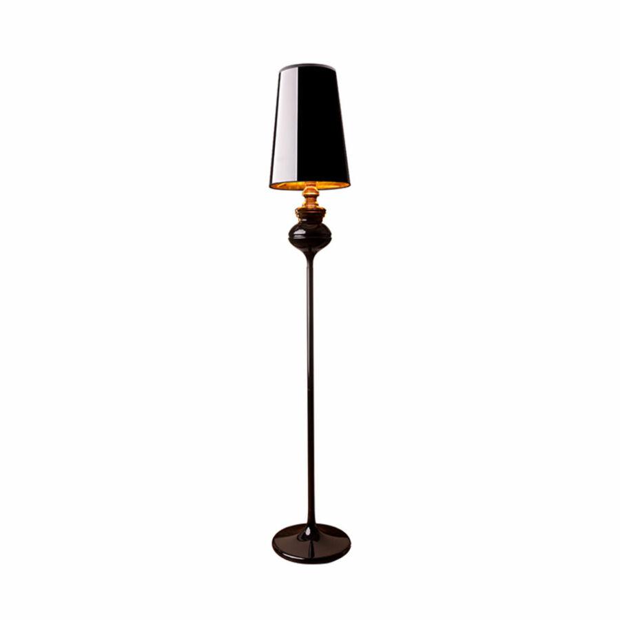 Nowodvorski ALASKA TL-5755 Állólámpa fekete 1xE27 max. 60W Ø30x175cm