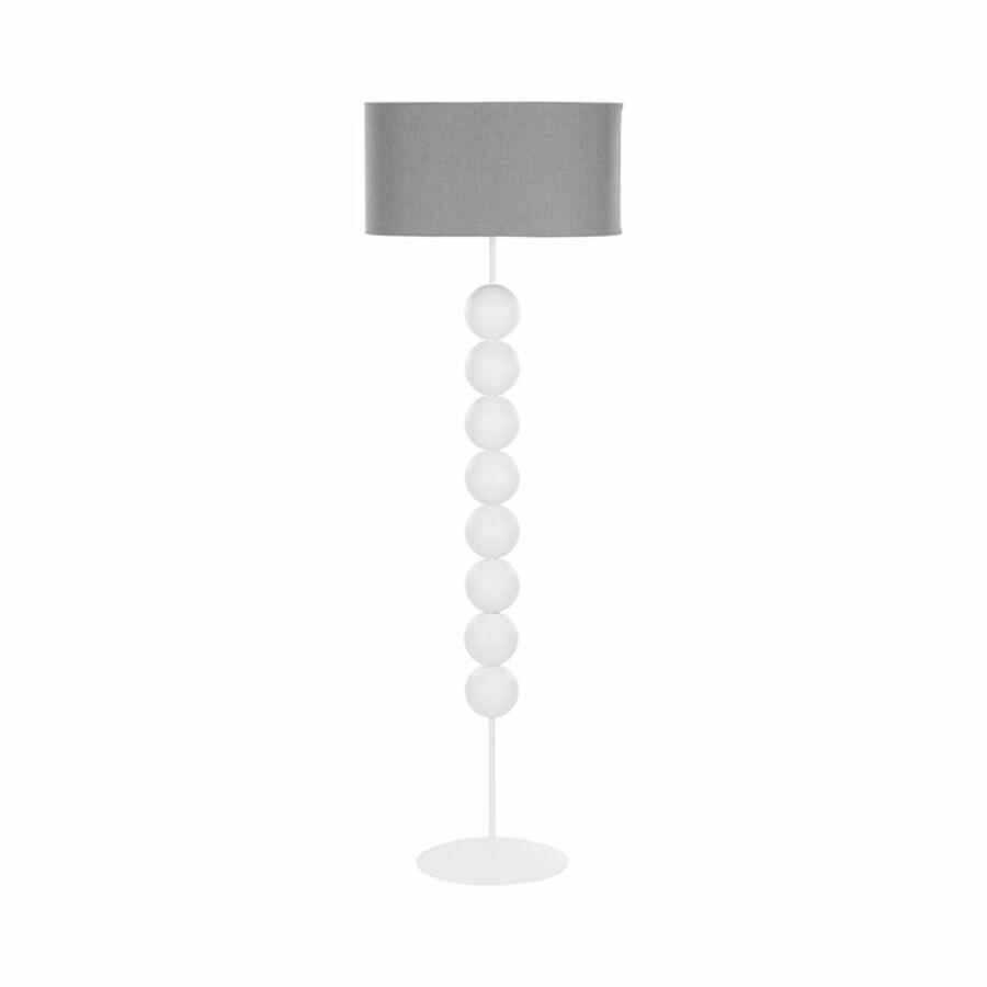 Nowodvorski EDITH TL-6332 Állólámpa fehér szürke 1xE27 max. 60W 55 x 55 x 166 cm