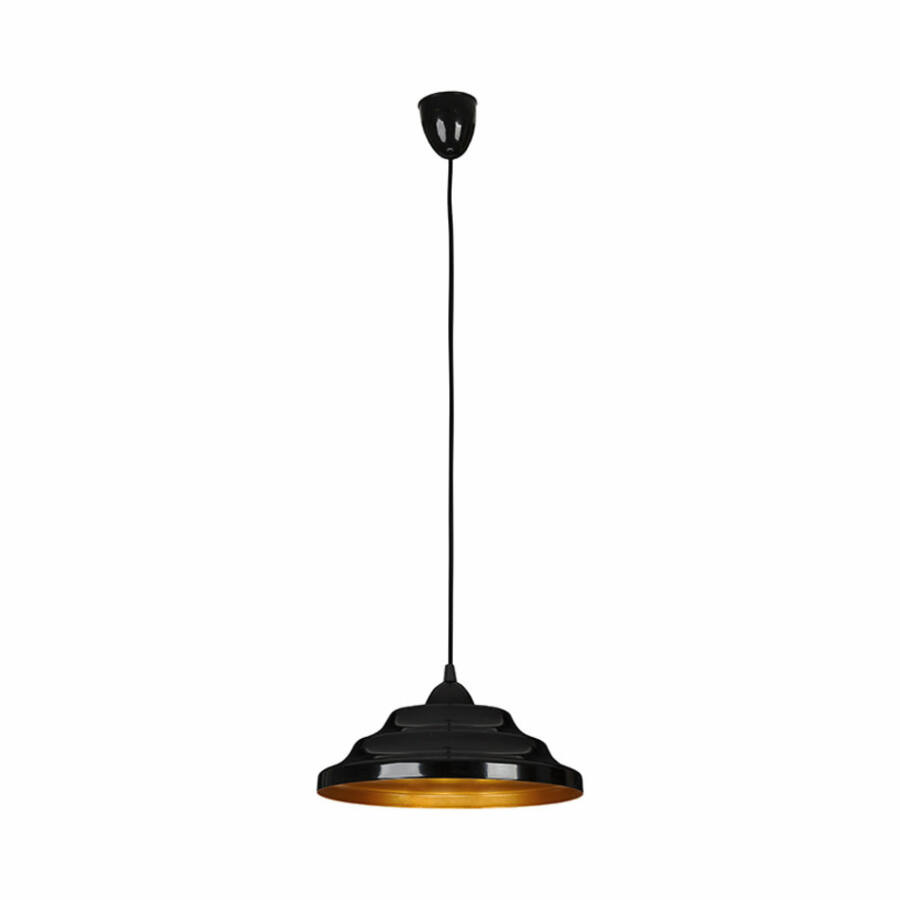 Nowodvorski ONDA TL-6428 Étkező lámpa fekete arany 1xE27 max. 60W 30 x 30 x 90 cm