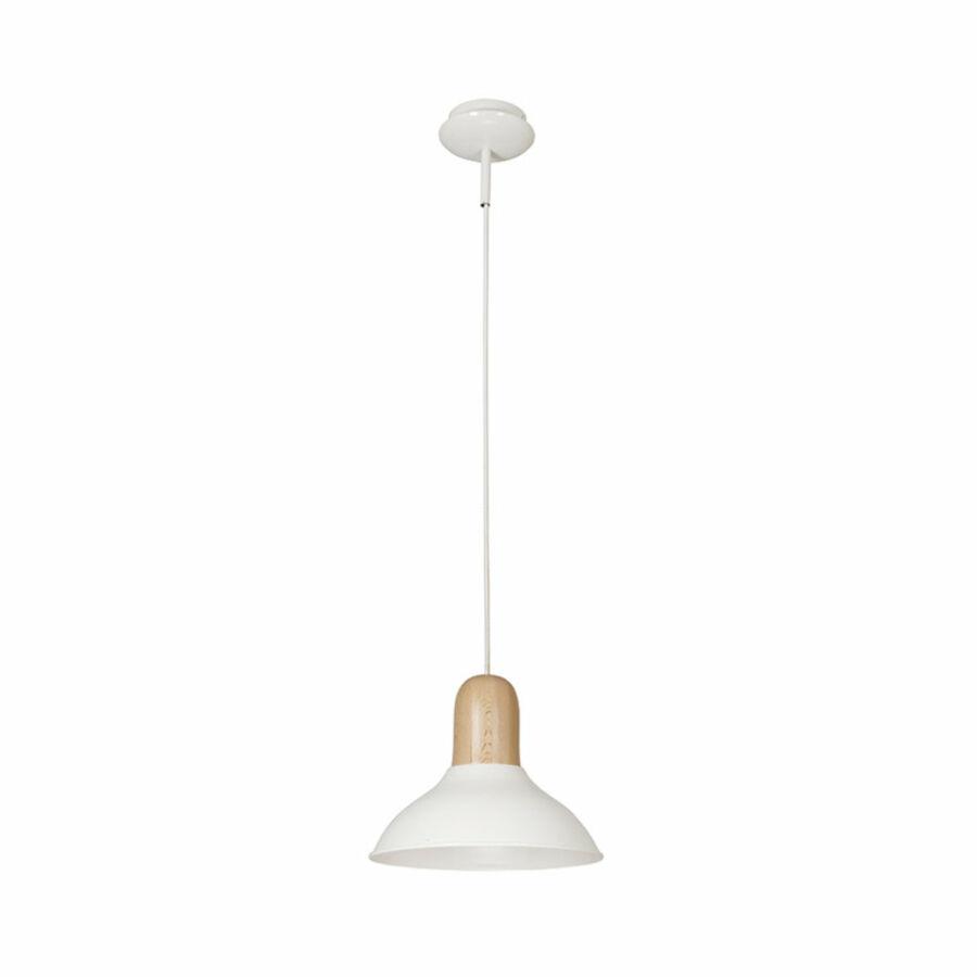 Nowodvorski WOOD BOY TL-6535 Étkező lámpa fehér 1xE27 max. 60W 120 x 35 x 35 cm