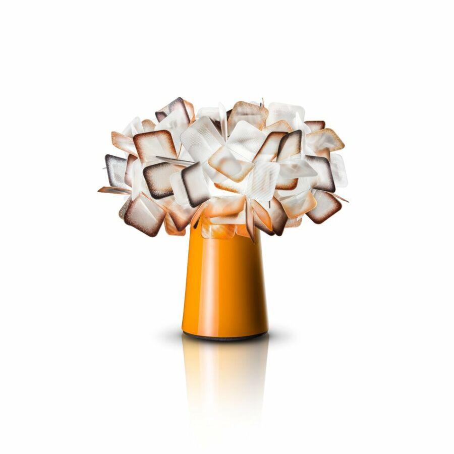SLAMP CLI78TAV0001A_000 Asztali lámpa CLIZIA narancssárga Lentiflex®