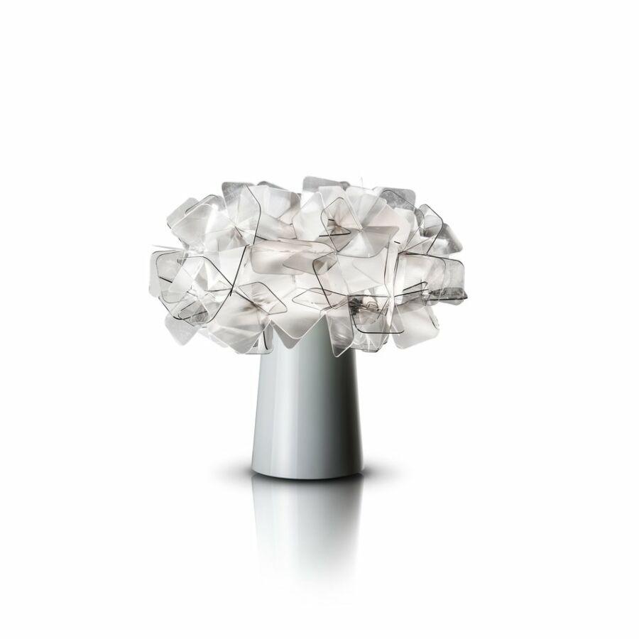 SLAMP CLI78TAV0001F_000 Asztali lámpa CLIZIA füstszínű Cristalflex Fumé®