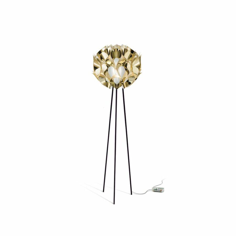 SLAMP FLO85PST0000O_000 Állólámpa FLORA arany Goldflex®