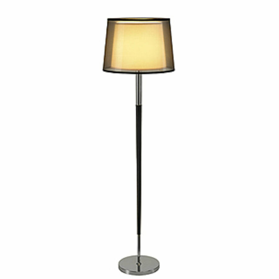 SLV BISHADE 155652 Állólámpa króm 1xE27 max. 40W Ø46x166 cm